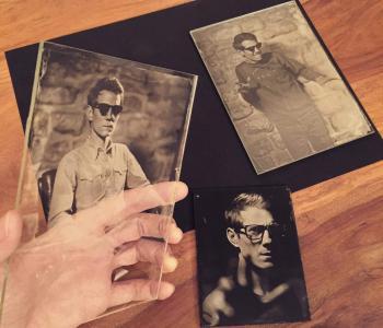 Photographie au collodion humide - Faire revivre le petit artisanat image 1
